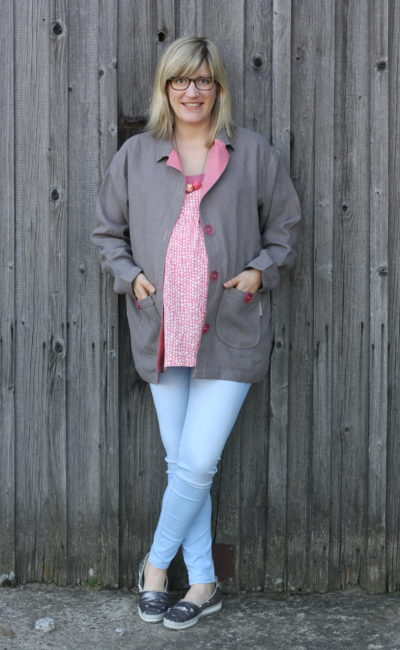 360° Fashion Basics aus Webware nähen: Lässige Oversize-Jacke