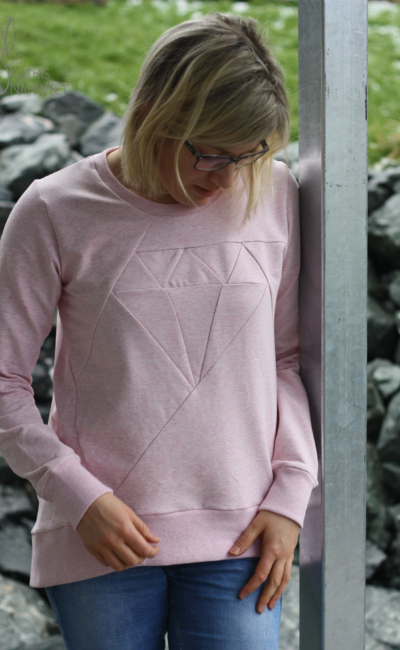 Sweater-Weather bei Näh-Connection: Diamond Sweater