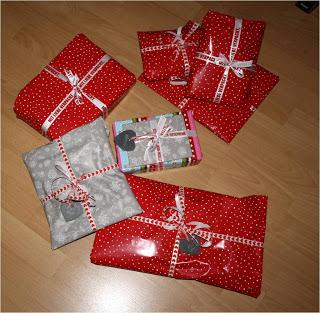 Geschenke über Geschenke