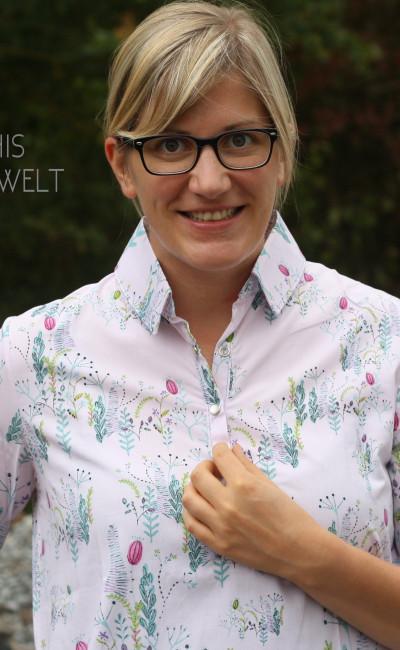 Katia Fabrics | Schnittmuster Hemdkleid mit 3/4-Ärmeln + Hemd